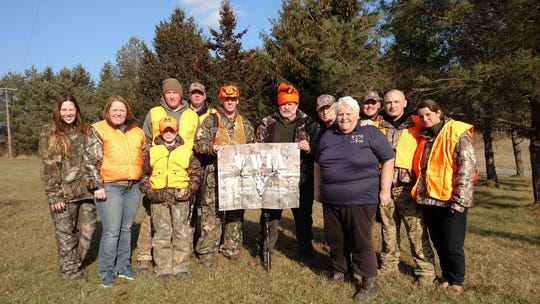 Carol and Bernie Cook, of Newfield, will once again host deer hunters on their property through the Wounded Warriors in Action Program.