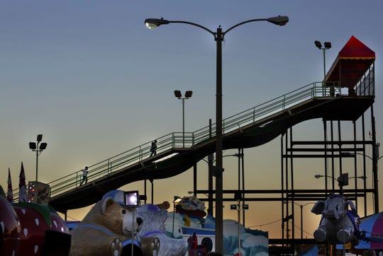 Slide at the Mississippi State Fair