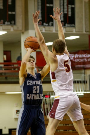 Nate Webb scored all 14 of his points in the second half of Friday's 60-54 win over McCutcheon.