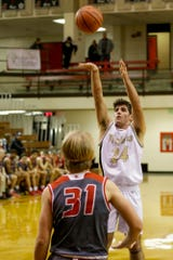 Caleb Ellmore had 11 points and eight rebounds in Covington's sectional semifinal win over Faith Christian.