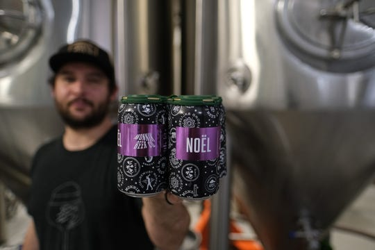 Monnik Beer Co's Noel beer.