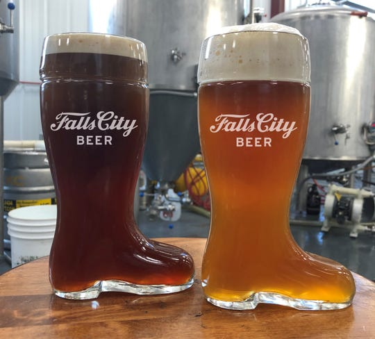 Falls City Beer's seasonal beers feature chestnut and spruce notes.