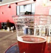 Cranberry cider at Apocalypse Brew Works