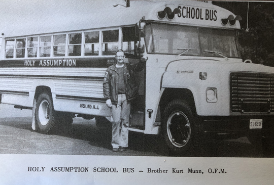 Kurt Munn, a former Franciscan brother, was a bus driver at the school Todd Kostrub attended as a child.