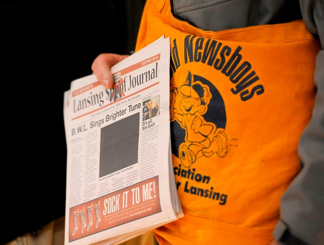 The Lansing Old Newsboys Association will sell the 2019 edition of the Lansing Spoof Journal starting Thursday.