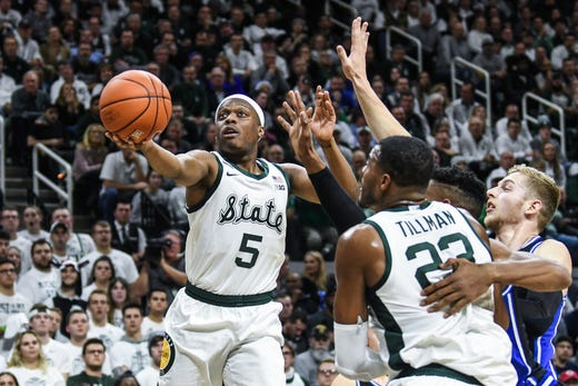 Couch: 3 quick takes on Michigan State's hard fall against Duke