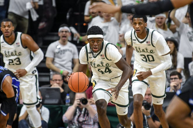 Gabe Brown's outside shot is essential to this MSU basketball season. He's 9-for-22 from beyond the arc through eight games.