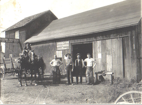 Reindl Springs closed in November. Six generations of the Reindl family operated the business,  most recently at 250 Park Avenue East. This photograph is of the original business in Crestline.