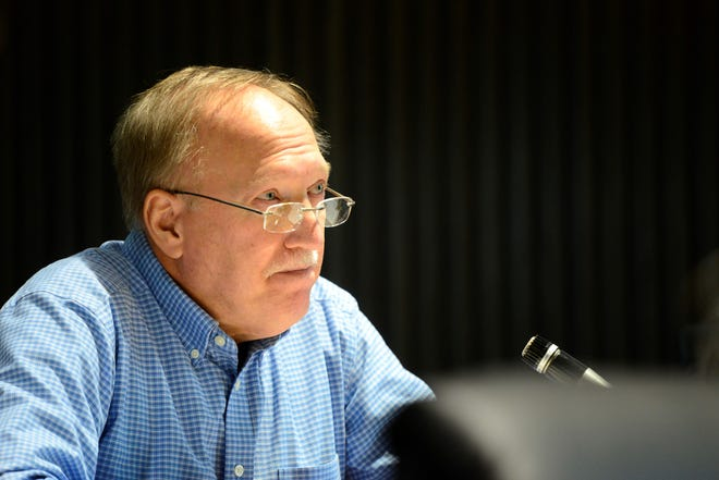 Cliff Mears, at-large city councilman, expressed concern Tuesday with the proposed salary increases.