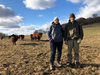 Linda Halley and Ryan Heinen of Gwenyn Hill Farm in Delafield are attending the Food, Faith and Farming Network winter markets as a way to earn extra income during the winter months.