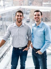 Tyler Kennedy (left) and Wes Schroll are co-founders of brand loyalty app maker Fetch Rewards.