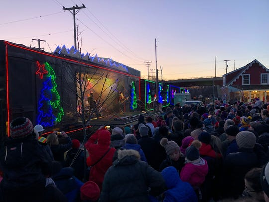 The Canadian Pacific Holiday Train made a visit to Wauwatosa on Tuesday, Dec. 3.