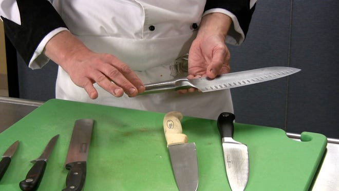 Cooking classes in the new year include knife skills.