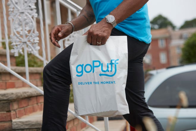 Philadelphia-based goPuff has launched delivery service in the Montgomery area.