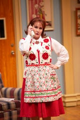 Sarah Adkins in a scene as ASF presents The Best Christmas Pageant Ever, which runs Dec. 5-29.