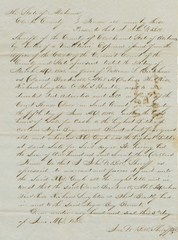 This 1848 deed details the sale of a four-year-old boy named Blount for $173. The deed says the boy was publicly auctioned in front of a courthouse.
