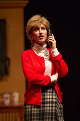 Vivienne Claire Luthin in a scene as ASF presents The Best Christmas Pageant Ever, which runs Dec. 5-29.