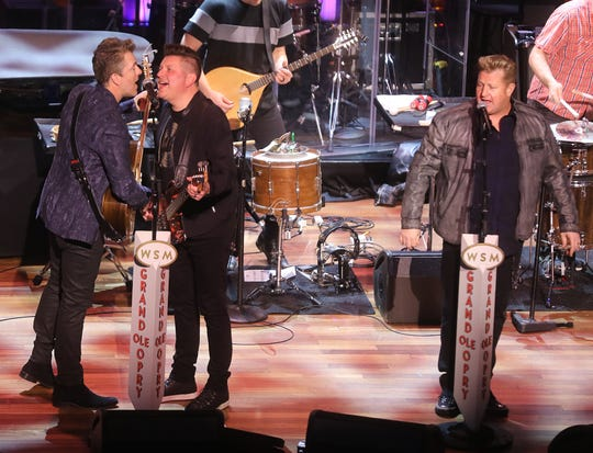 Rascal Flatts perform during NASCAR Night at the Opry held at The Ryman Auditorium Tuesday, December 3, 2019.