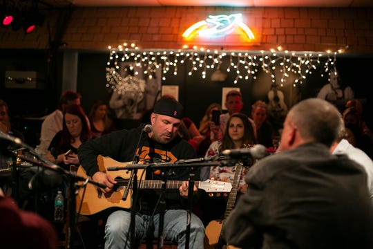 "Garth Brooks performs at the Bluebird Cafe for the ""Bluebird"" documentary."