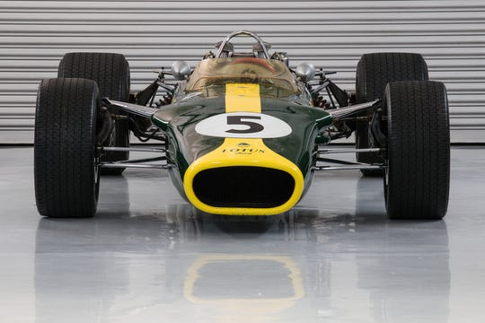 Driven by two-time Formula One World Champion and 1965 Indy 500 champion Jim Clark, the Lotus Type 49/2 is credited with shaping Grand Prix racing history and revolutionizing Formula One racing.
