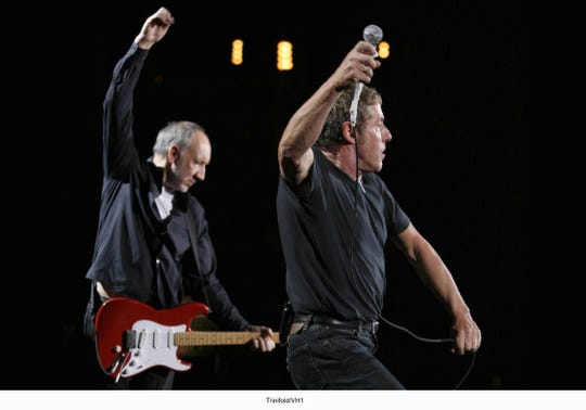 Pete Townshend and Roger Daltrey of The Who.