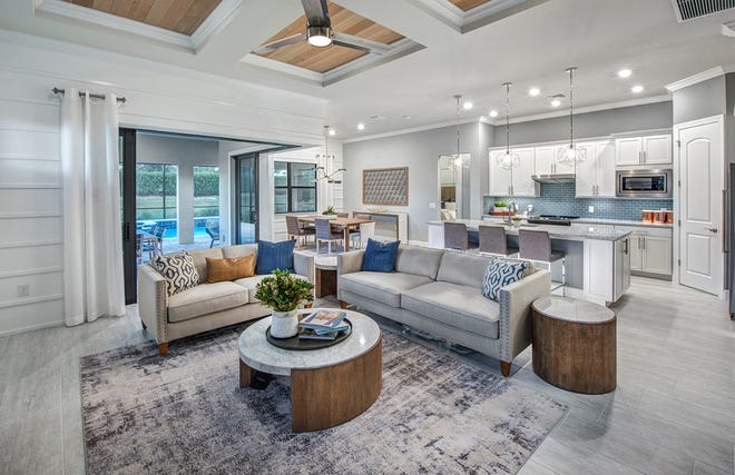 Best interior design, single family ($500,000 – $649,999) accolades went to the Summerwood at Corkscrew Shores.