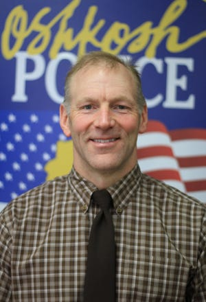 Oshkosh Police Department School Resource Officer Michael Wissink