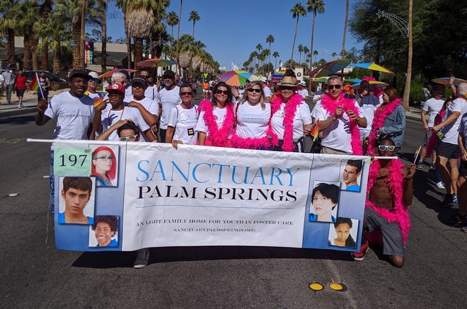 Sanctuary Palm Springs had a colorful presence in the 2019 Greater Palm Springs Pride parade.
