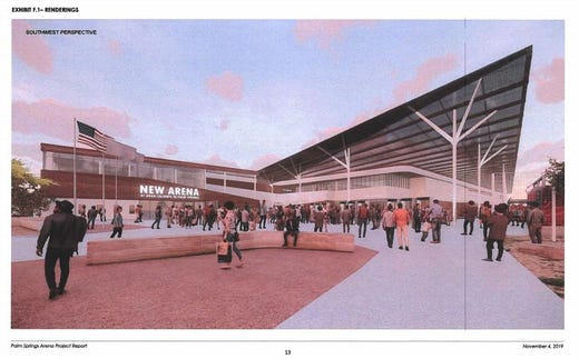 Palm Springs hears from public about proposed entertainment arena on tribal land