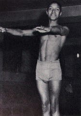 Ronn Jenkins during his time at William Penn High School. He would go on to dive at West Chester University.