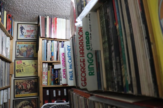 LPs from the The Beatles discography are a common grab at Wax Trax Records.