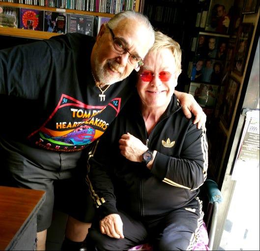 Wax Trax Records in Las Vegas is Elton John's favorite record store.