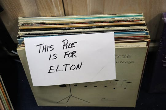 Rich Rosen picks through records and sends Elton John lists of LPs he might want.