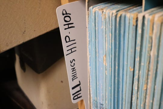 Wax Trax Records even has a hip-hop section.