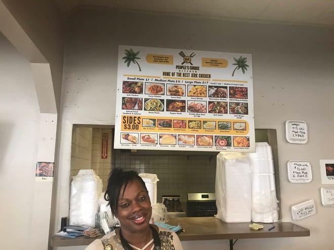 Evangela Stanley at People's Choice Kitchen.