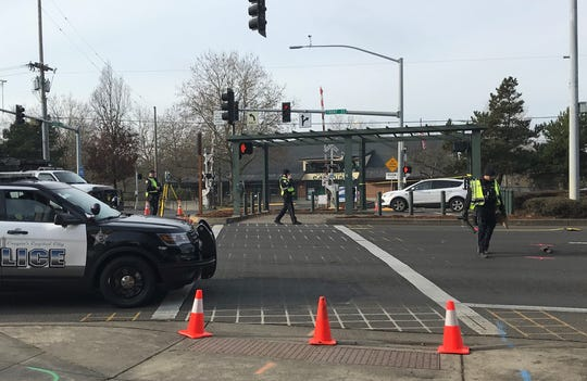 A fatal crash investigation closed northbound lanes of Front Street in downtown Salem Wednesday, Dec. 4.
