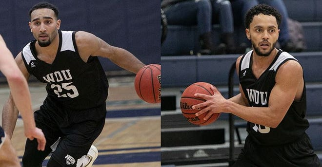 Darius Lubom (25) and Dalven Brushier (20) both had standout performances at the San Francisco State Gator Gobble.