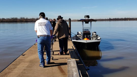 The Bossier Parish Sheriff's Office recovered the body of a middle-aged white man from the Red River on Wednesday, Dec. 4, 2019, about two miles south of Red River South Marina.