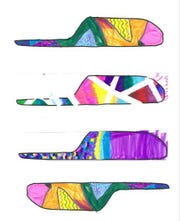 Median designs submitted to the city from kids at the Boys & Girls Clubs' Henderson Unit in north Springfield.