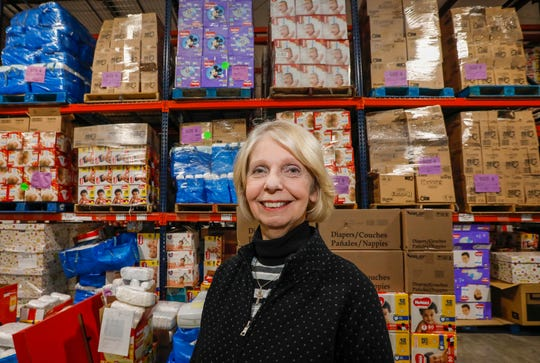 Jill Bright, founder of the Diaper Bank of the Ozarks, is the recipient of the 2019 Humanitarian Award.