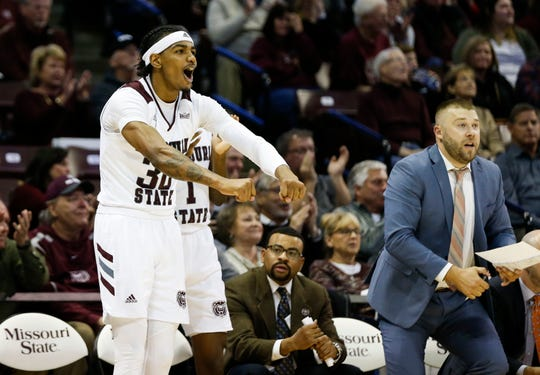The Missouri State Bears took on the Murray State Racers at JQH Arena on Tuesday, Dec. 3, 2019.
