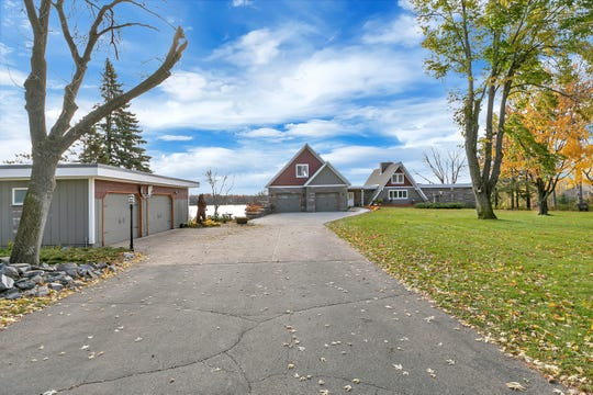 The house features a two-car attached garage as well as a 24-by-32-foot detached, insulated and heated garage.