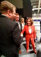 Meeting Speaker Nancy Pelosi at the COP25.