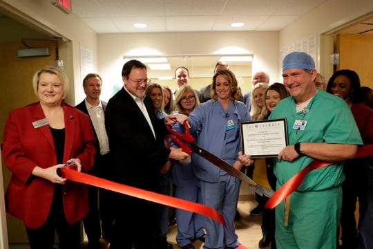 A ribbon cutting ceremony was held for the new Joseph M. Still Burn Center at Capital Regional Medical Center.