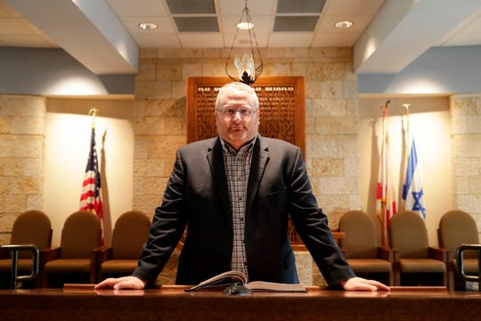 Rabbi Michael Shields became the leader of Temple Israel in July 2019.