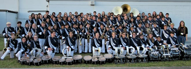 The Hidden Oaks Middle School Marching Band is one of the groups that will perform at the 28th annual holiday breakfast and silent auction from 8 a.m. to noon Dec. 8, 2019.