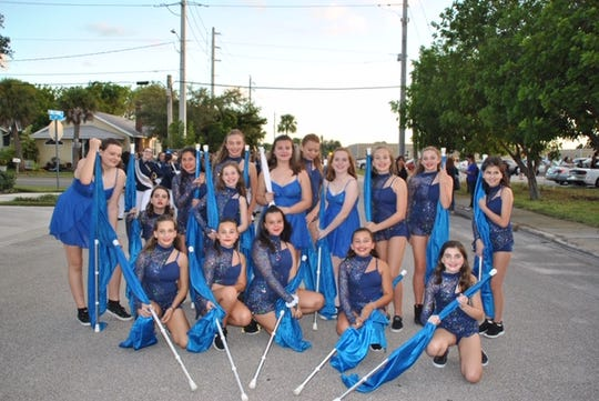 The Hidden Oaks Middle School Color Guard is one of the groups that will perform at the 28th annual holiday breakfast and silent auction on Dec. 8, 2019.