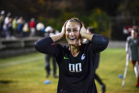 Goalkeeper Ella Dederick, a Newbury Park High graduate, has kept three shutouts in four matches in guiding Washington State women's soccer to its first berth in the NCAA Division I College Cup this weekend in San Jose. The Cougars play No. 2 North Carolina in the national semifinals on Friday.