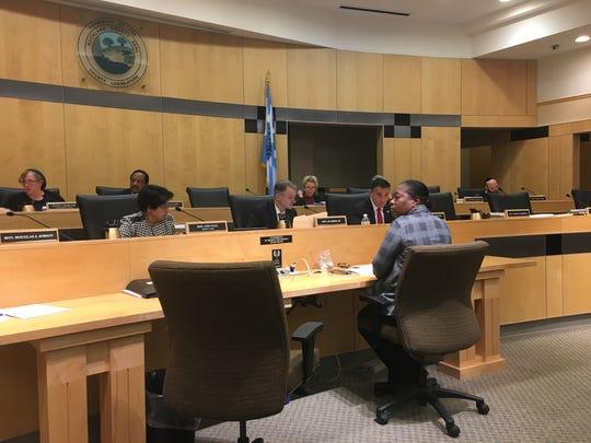 Rockland legislators discusses raises and the 2020 budget during a meeting Tuesday night, Dec. 3, 2019.