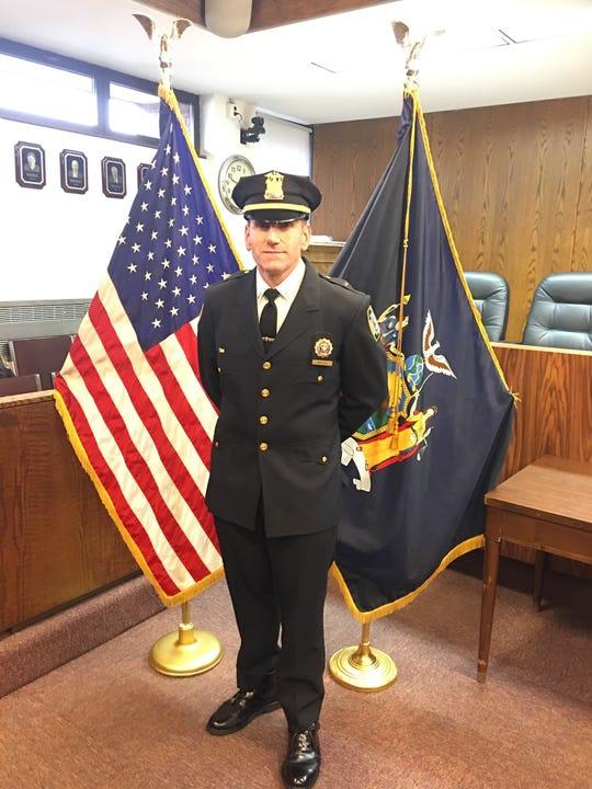 New Harrison Police Chief John Vasta